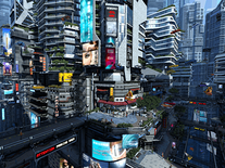 Small screenshot 2 of Futuristic City 3D
