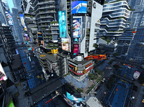 Small screenshot 3 of Futuristic City 3D