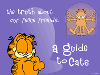 Screenshot of Garfield's Guide to Cats