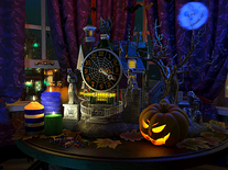 Screenshot of Halloween Evening 3D
