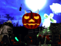 Screenshot of Halloween Haunt 3D