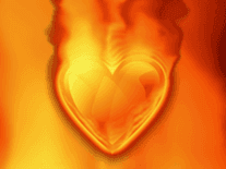 Screenshot of Heart on Fire