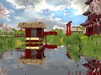 Screenshot of Japanese Garden 3D