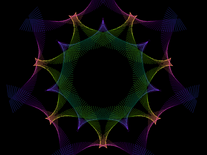 Screenshot of Kaleidoscope 95