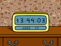 Screenshot of Kukuxumusu Digital Clock