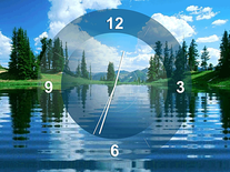 Screenshot of Lake Clock