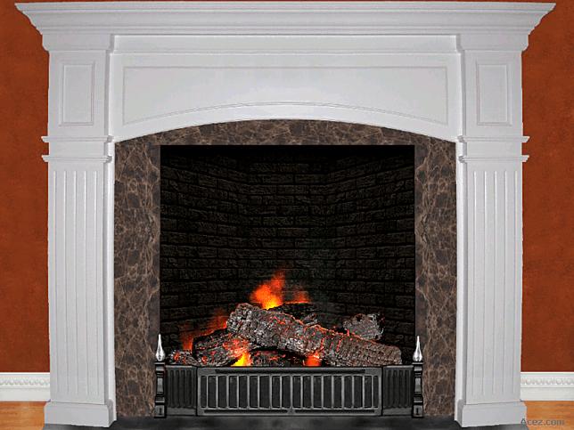 3D Cozy Fireplace Screensaver for Windows - Screensavers ...