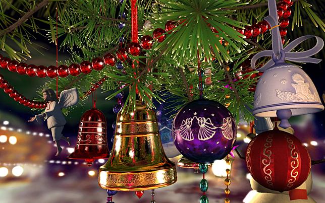 Christmas Bells 3D Screensaver for Windows - Screensavers ...