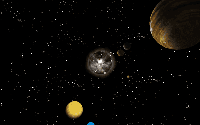 actual moving pictures of the solar system - photo #25