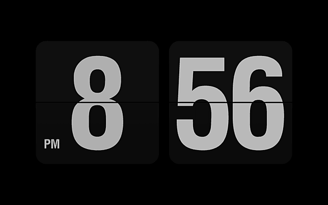 fliqlo flip clock 1