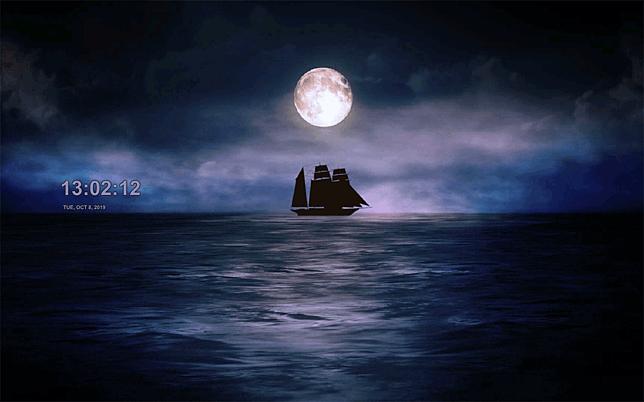 moonlit ship 1