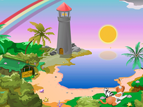 Screenshot of Lighthouse Clock