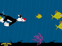Screenshot of Looney Tunes: Fishies