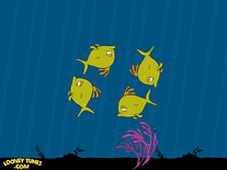 Small screenshot 2 of Looney Tunes: Fishies