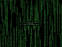 Screenshot of Matrix Code Emulator