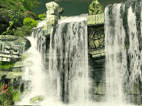 Small screenshot 2 of Mayan Waterfall 3D