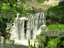 Small screenshot 3 of Mayan Waterfall 3D
