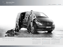 Screenshot of Mercedes-Benz Calendar