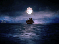 Screenshot of Moonlit Ship