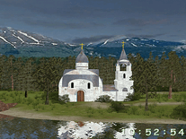 Screenshot of Mountain Lake 3D