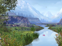Screenshot of Mountain River