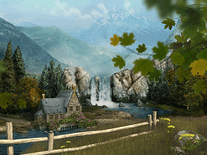 Screenshot of Mountain Waterfall