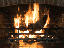 Screenshot of MSN Fireplace