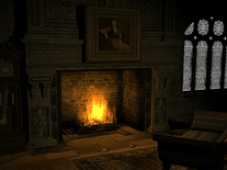 Screenshot of Old Fireplace