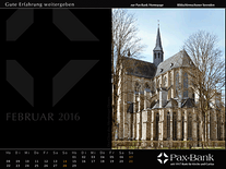 Screenshot of Pax-Bank Calendar 2016