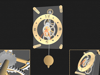 Screenshot of Pendulum Clock 3D