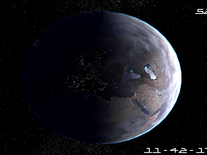 Screenshot of Planet Earth 3D