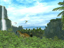 Screenshot of Prehistoric Valley