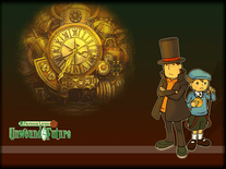 Screenshot of Professor Layton and the Unwound Future