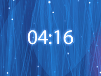 Small screenshot 3 of Radiating Clock