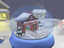 Screenshot of Real Snow Globes 3D