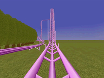 Screenshot of Rollercoaster 2000