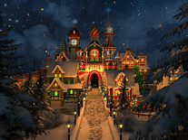 Screenshot of Santa's Castle 3D