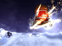 Small screenshot 2 of Santa's Flight 3D