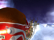 Small screenshot 3 of Santa's Flight 3D