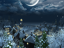 Screenshot of Snow Village 3D