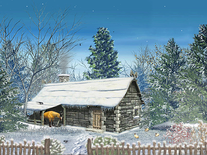 Screenshot of Snowy Hut