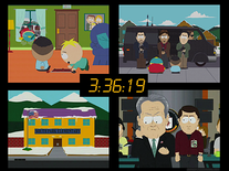 Screenshot of South Park: 24-Style