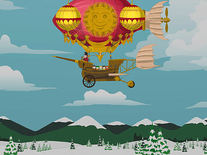 Screenshot of South Park: Blimp