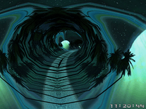Small screenshot 3 of Space Tunnels 3D
