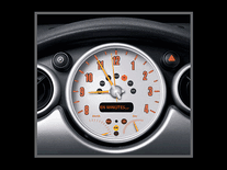 Screenshot of Speedometer Clock