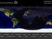 Small screenshot 2 of Star Alliance Flight Tracker