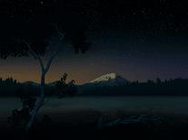 starry night screensaver for windows screensavers planet