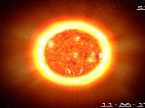 Screenshot of Sun 3D