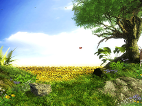 Screenshot of Sunflowers