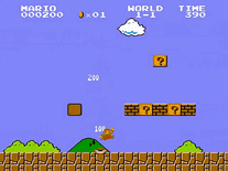 Screenshot of Super Mario Bros